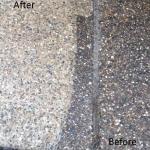 Aggregate path pressure clean