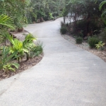 Buderim driveway pressure cleaning - after