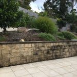Tanawha stone wall cleaning - before