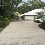 Concrete driveway -Bli Bli- after
