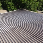 Immanuel Lutheran Church Roof Cleaning - before