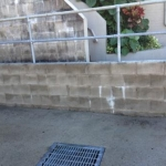Nambour Block-wall pressure clean-after