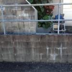 Nambour Block-wall pressure clean-before