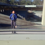 Australia Zoo roof clean using safety gear