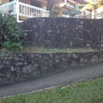 Woombye Rock Wall Cleaning-before