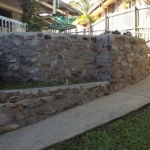 Woombye Rock Wall Cleaning-after