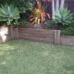 Buderim timber-retainer-after