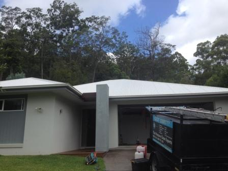 Roof cleaning in Buderim - after