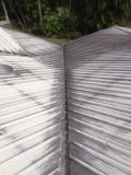 Buderim tin roof cleaning - before