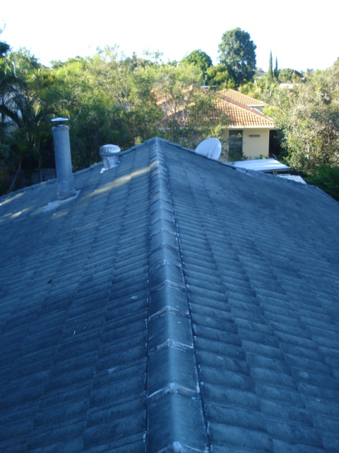 Buderim tile roof cleaning-after