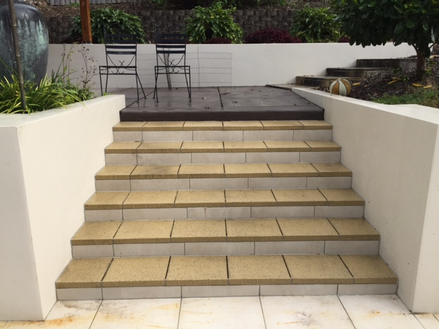Tanawha Concrete steps - after