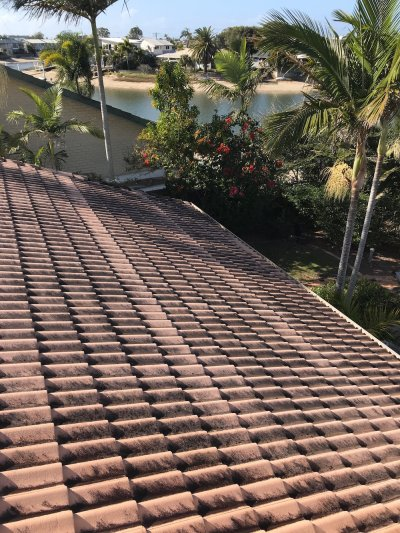 Tile Roof Before-Mooloolaba