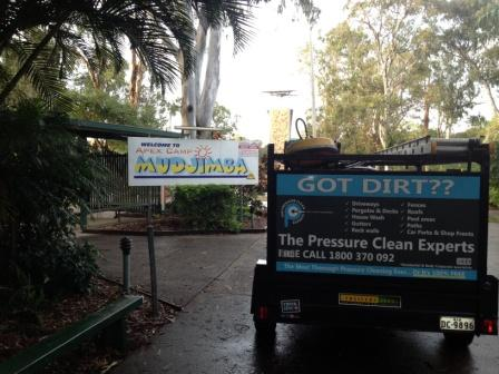 Commercial pressure cleaning Apex Camp Mudjimba