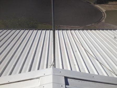 Colorbond roof cleaning Nambour Sunshine Coast