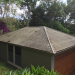 Bald Knob roof cleaning - before