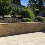 Tanawha stone wall cleaning - after