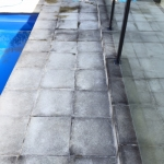 Coolum Beach pool cleaning - before