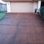 Pelican Waters driveways before