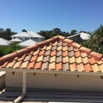 Twin Waters -Terracotta roof tiles - after
