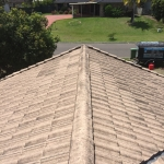 Mountain Creek -rooftop cleaning - before