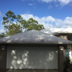 Colorbond roof cleaning-Sippy Downs - before