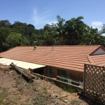 Tile roof - Buderim-after