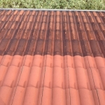 Tile roof cleaning in Nambour before