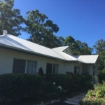 Colorbond roof cleaning Tanawha - after