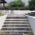 Tanawha Concrete steps - before