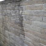Pressure clean Stone Wall Mooloolaba