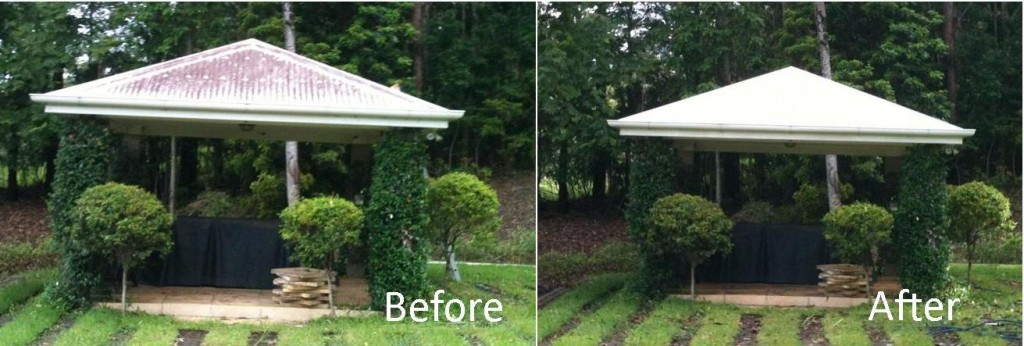 Colorbond Gazebo clean