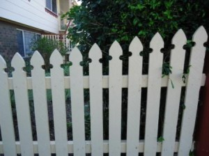 AFTER - Cleaning Picket Fences on the Sunshine Coast